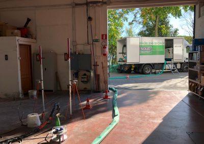Consolidamento pavimentazione industriale, Perugia